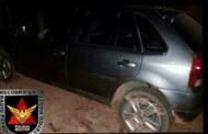 Bandidos agridem vítimas e roubam dinheiro e automóvel