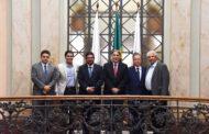 Governador Fernando Pimentel recebe deputados federais do PMDB