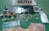 PM apreende drogas, dinheiro e celulares no Nossa Senhora Aparecida