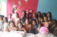 Alunos do ballet do Cras participam de festa de confraternização
